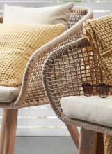 Kave Home Gilded sofa 2-zits