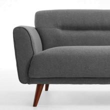 Kave Home Oksana 3-zits sofa donkergrijs