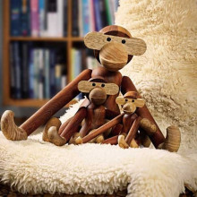 Kay Bojesen Monkey collectors item large