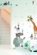 KEK Amsterdam Animals XL muursticker