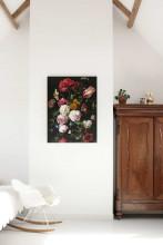 KEK Amsterdam Golden Age Flowers 2 houten wandpaneel