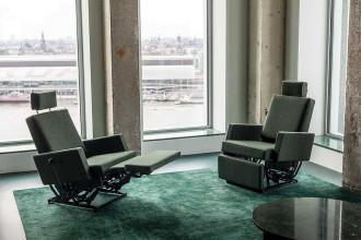 Lensvelt AVL Lazy Modernist loungestoel