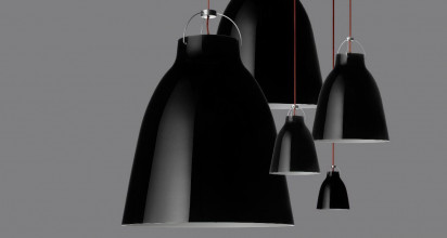 Lightyears Caravaggio BlackBlack P4 hanglamp