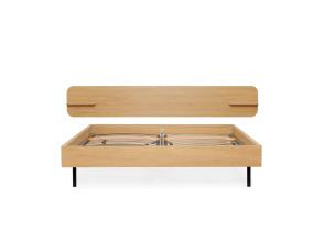 Loof Frame bed met hoofdbord type 2 180x200
