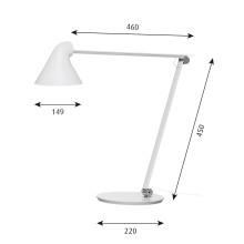 Louis Poulsen NJP bureaulamp LED 2700K