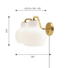 Louis Poulsen VL Ring Crown 2 wandlamp
