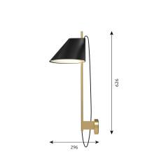 Louis Poulsen Yuh wandlamp LED messing