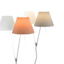 Luceplan Costanza wandlamp met aan-/uitschakelaar aluminium