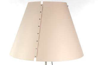 Luceplan Costanza vloerlamp telescopisch met dimmer gebroken wit