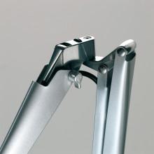 Luceplan Fortebraccio bureaulamp met aan-/uitschakelaar metaal