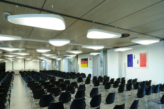 Luceplan Petale akoestische hanglamp 136x83 LED