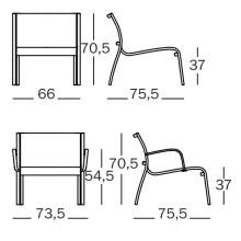Magis Paso Doble Low fauteuil