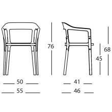 Magis Steelwood stoel