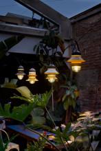 Marset Santorini hanglamp buiten
