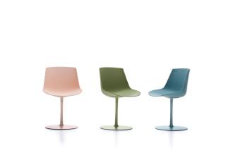 MDF Italia Flow Color Central Leg stoel