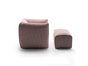 MDF Italia Mia draaibare fauteuil