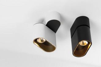 Modular Duell plafondlamp LED 2700K zwart