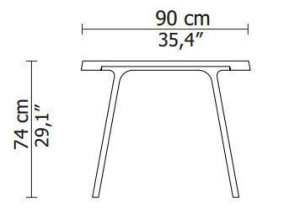 Montis Doble tafel 230x90