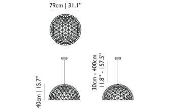 Moooi Raimond Dome 79 hanglamp LED