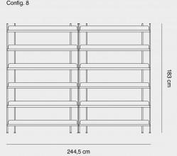 Muuto Compile 8 stellingkast
