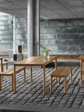 Muuto Linear bank zwart 110