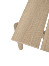Muuto Linear wood bank 170x34