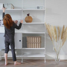 Ferm Living Apple Braided opbergmand