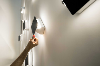 Nemo Applique à Volet Pivotant wandlamp LED