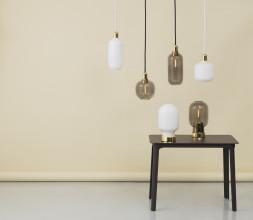 Normann Copenhagen Amp Lamp Brass hanglamp large