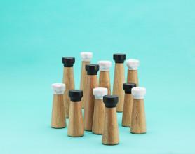 Normann Copenhagen Craft peper- en zoutmolen wit small