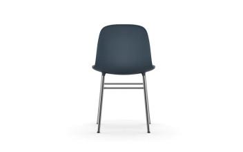 Normann Copenhagen Form Chair stoel met verchroomd onderstel