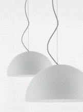 Oluce Sonora 90 hanglamp opaal