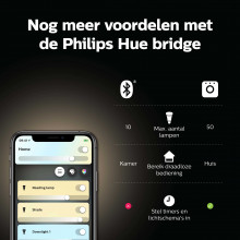 Philips Hue Philips Hue lichtbron E27 Bluetooth - white ambience- 1-pack