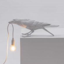 Seletti Bird Playing tafellamp buiten