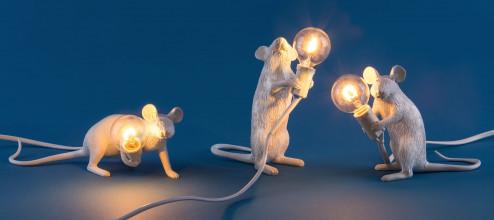 Seletti Mouse Lamp Standing tafellamp