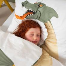 Snurk Dragon dekbedovertrek 140x200