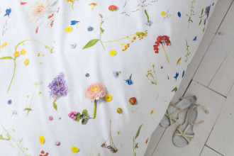 Snurk Flower Fields dekbedovertrek 140x220