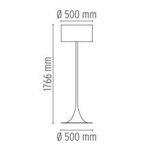 Flos Tweedekansje - Spun Light F vloerlamp wit