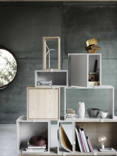 Muuto Stacked 2.0 kast met backboard small