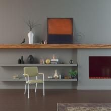 Studio HENK Co Armchair stoel met wit frame