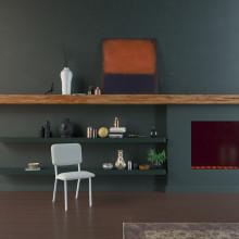 Studio HENK Co stoel met wit frame