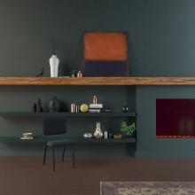 Studio HENK Co stoel met zwart frame