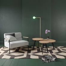 Studio HENK New Co coffee table 900 zwart onderstel