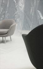 Normann Copenhagen Sum fauteuil aluminium onderstel