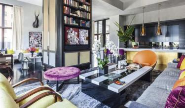 teNeues Living in Style New York tafelboek