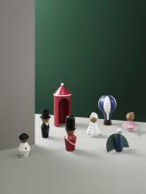 Tivoli Tale Figurines Air Balloon woondecoratie small