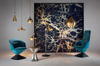 Tom Dixon Beat Light Fat hanglamp zwart