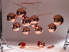 Tom Dixon Copper Round 45 hanglamp