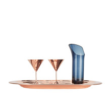 Tom Dixon Plum Martini glas set van 2