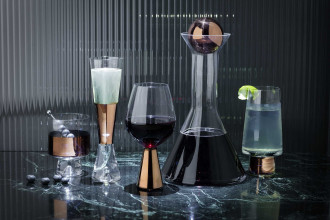 Tom Dixon Tank Low Ball glas set van 2